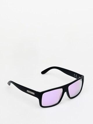 Okulary przeciwsu0142oneczne MassDnm Icon (matte black/purple)
