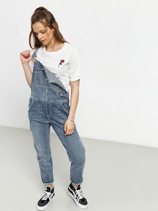 T-shirt Vans Leila Check Wmn (white checkerboard)