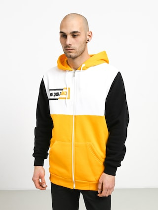 Bluza z kapturem El Polako Cut ZHD (yellow/white/black)
