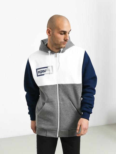 Bluza z kapturem El Polako Cut ZHD (grey/white/navy)