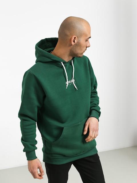 Bluza z kapturem El Polako Mini Logo HD (green)