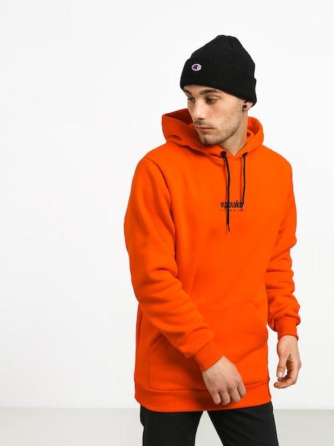 Bluza z kapturem El Polako Mini Logo HD (orange)