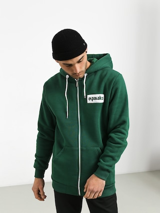 Bluza z kapturem El Polako Small Logo ZHD (green)