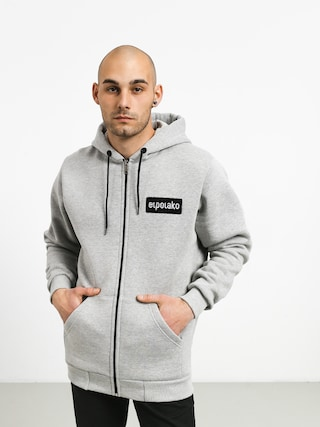 Bluza z kapturem El Polako Small Logo ZHD (grey)