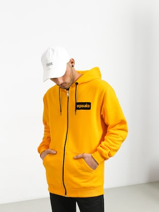 Bluza z kapturem El Polako Small Logo ZHD (yellow)