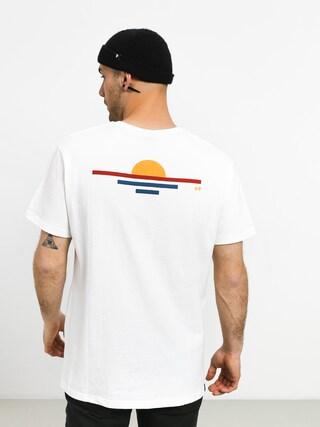 T-shirt Rip Curl Rainbow Sign (optical white)