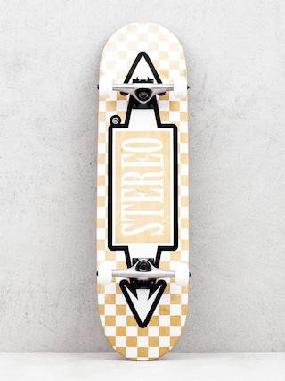 Deskorolka Stereo Arrow Square (beige/white)