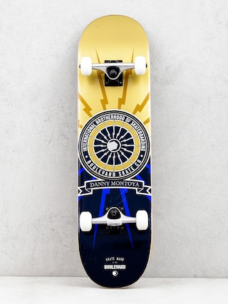 Deskorolka Boulevard Montoya Brotherhood (gold/navy)
