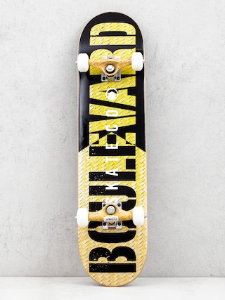 Deskorolka Boulevard Skate Co (yellow/black)