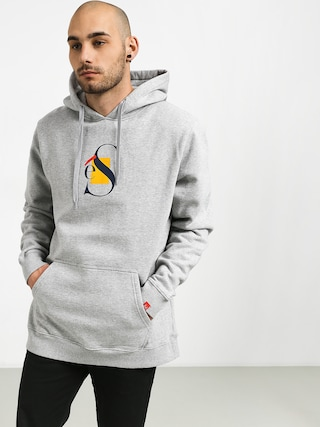Bluza z kapturem Es Layers HD (grey/heather)