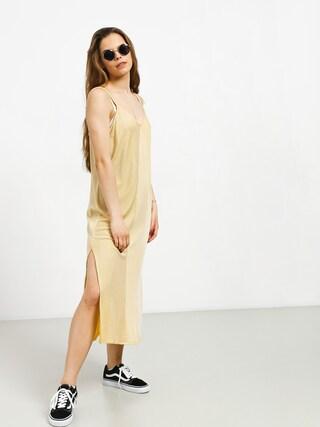 Sukienka RVCA Layla Wmn (mustard)
