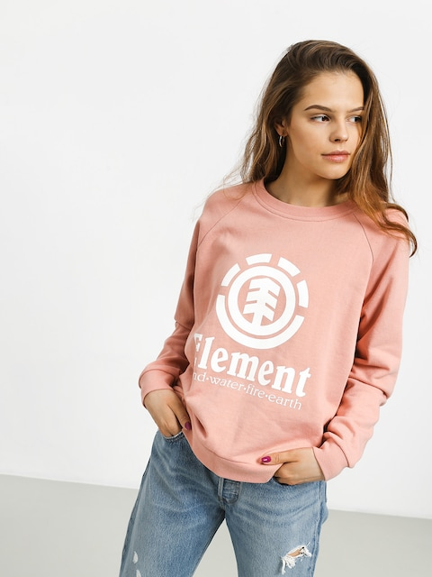 Bluza Element Verticalli Crew Wmn (peach)