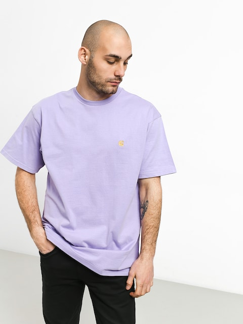 T-shirt Carhartt WIP Chase (soft lavender/gold)