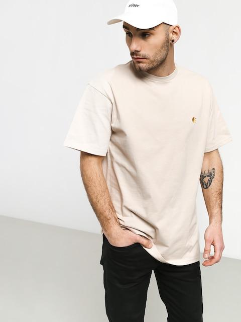 T-shirt Carhartt WIP Chase (boulder/gold)
