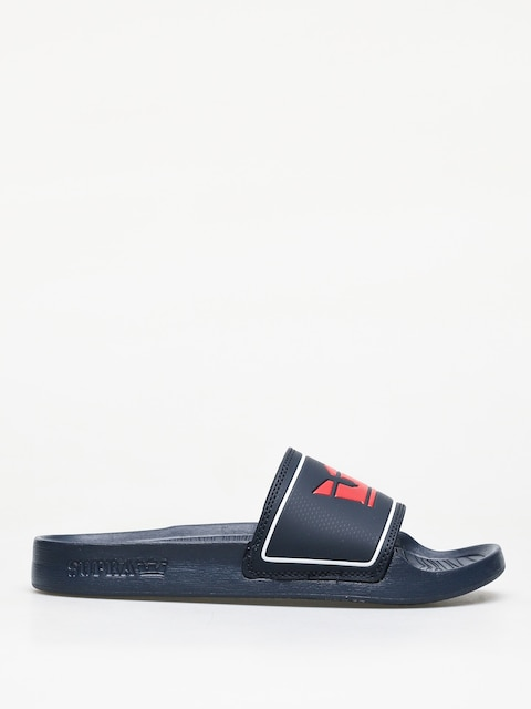 Klapki Supra Lockup (navy/red)