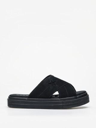 Klapki Converse One Star Sandal Slip Wmn (black/black/black)