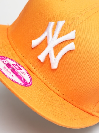 Czapka z daszkiem New Era Fashion Ess 950 ZD Wmn (new york yankees orange/white)
