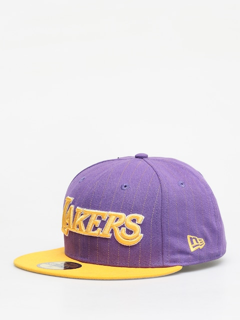 Czapka z daszkiem New Era Nba Pincrown ZD (los angeles lakers purple/yellow)