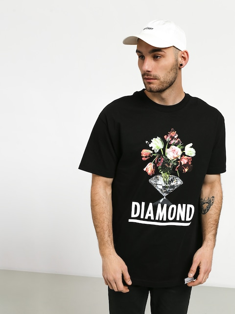 T-shirt Diamond Supply Co. Pollination (black)