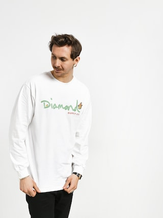 Longsleeve Diamond Supply Co. Paradise Og Script (white)