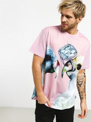 T-shirt Diamond Supply Co. Diamond Perroquet (pink)