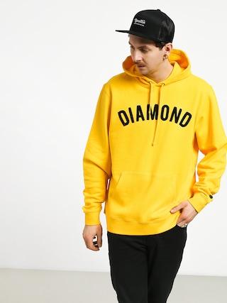 Bluza z kapturem Diamond Supply Co. Diamond Arch HD (yellow)