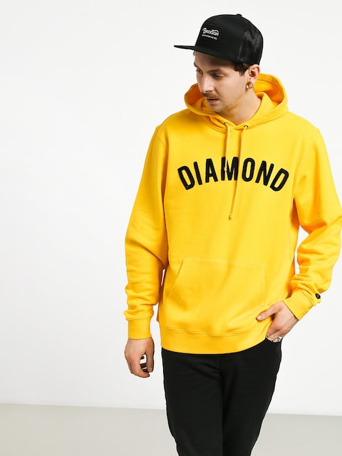 Bluza z kapturem Diamond Supply Co. Diamond Arch HD (yellow)