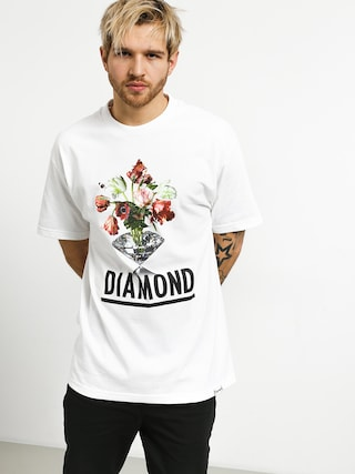 T-shirt Diamond Supply Co. Pollination (white)