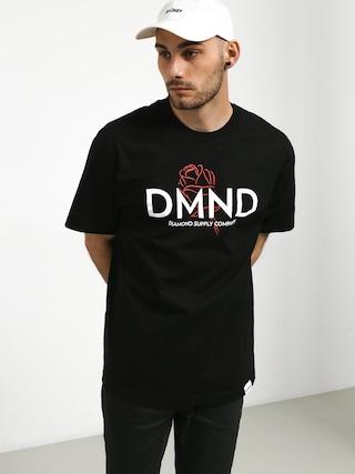 T-shirt Diamond Supply Co. Dmnd Amour (black)