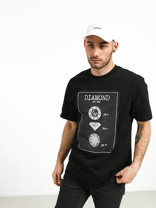 T-shirt Diamond Supply Co. Draft (black)