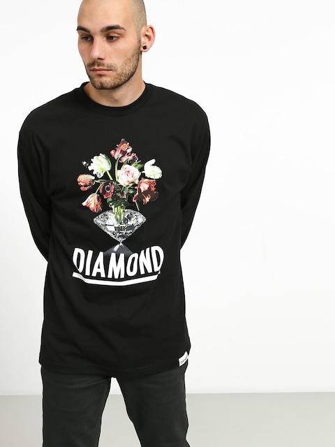 Longsleeve Diamond Supply Co. Pollination (black)