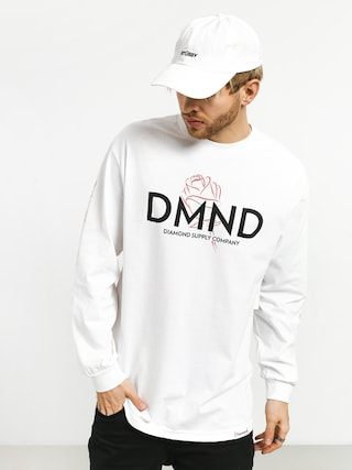 Longsleeve Diamond Supply Co. Dmnd Amour (white)