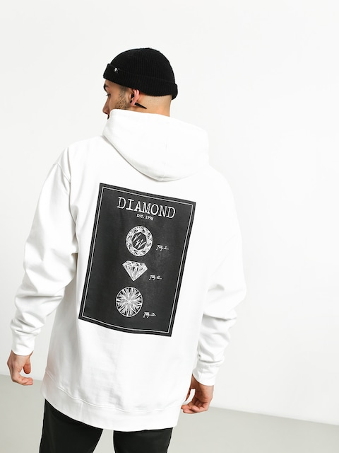 Bluza Diamond Supply Co. Draft (white)