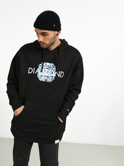 Bluza z kapturem Diamond Supply Co. Asscher Cut HD (black)