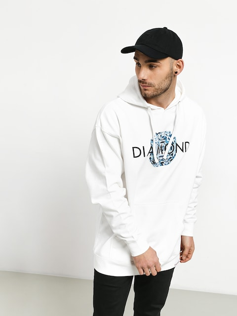 Bluza Diamond Supply Co. Asscher Cut (white)