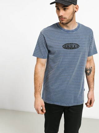 T-shirt Quiksilver OG Stripes & Art. (stone wash og stripe art.)