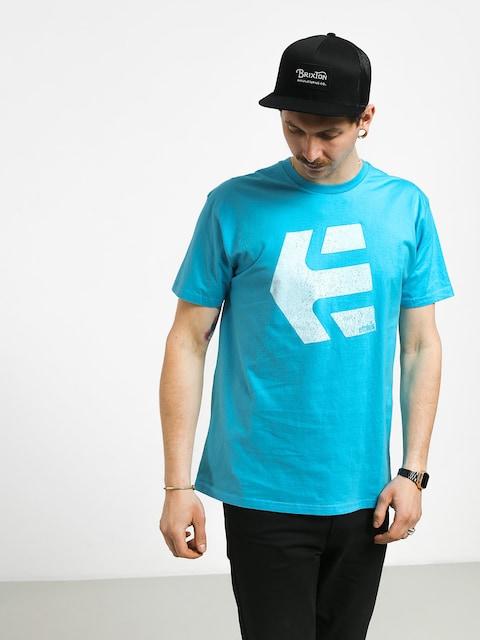T-shirt Etnies Logomania (turquoise)