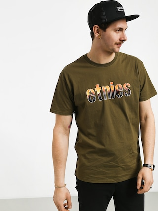 T-shirt Etnies Landscape (military)