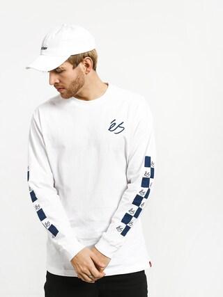 Longsleeve Es Spot Check (white)