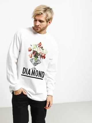 Longsleeve Diamond Supply Co. Pollination (white)