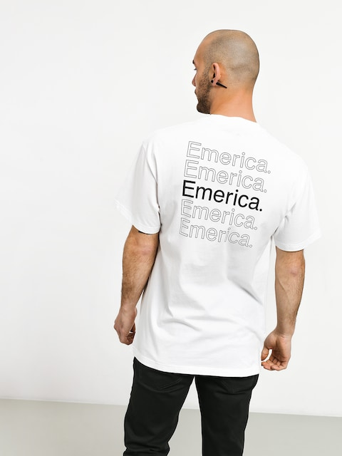 T-shirt Emerica New Stack (white/black)