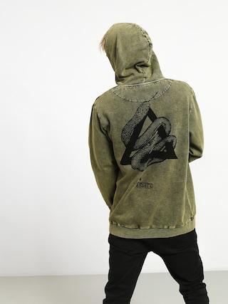 Bluza z kapturem Emerica Crawl HD (military)
