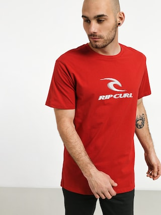 T-shirt Rip Curl Iconic (red)