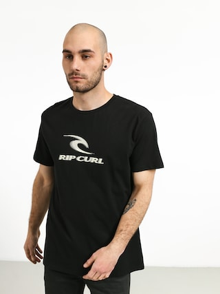T-shirt Rip Curl Iconic (black)