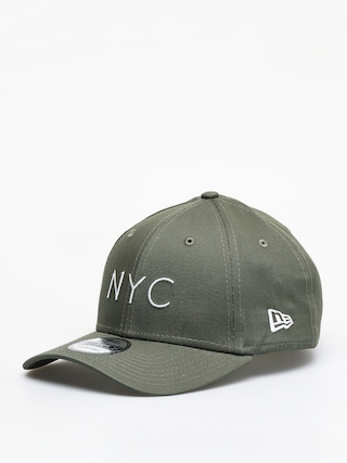Czapka z daszkiem New Era 9Forty Essential New Era ZD (olive/optic white)