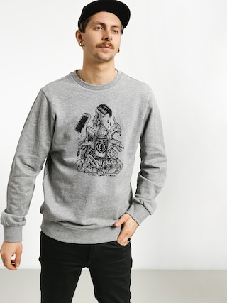 Bluza Element By Hand Crew (grey heather)