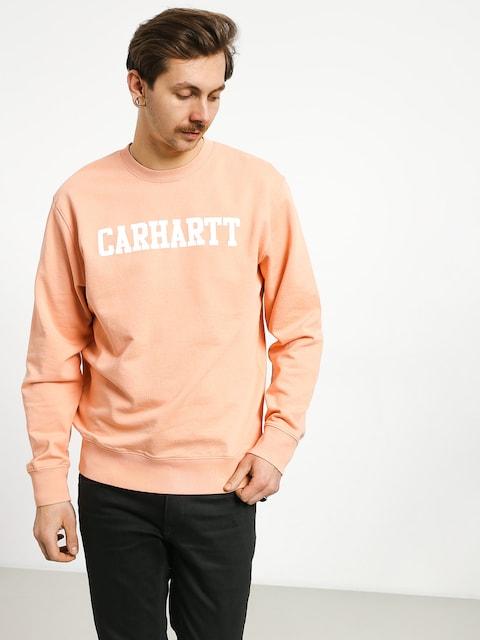 Bluza Carhartt WIP College (peach/white)