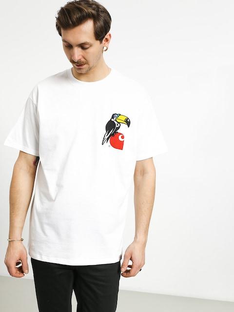 T-shirt Carhartt WIP Nosebird (white)
