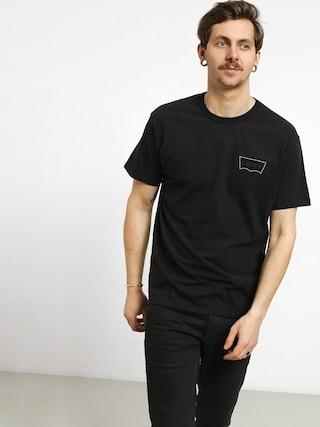 T-shirt Levi's Graphic (black core batwing black)
