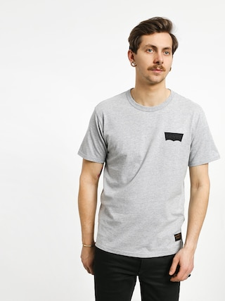 T-shirt Levi's Graphic (heather grey core batwing black)